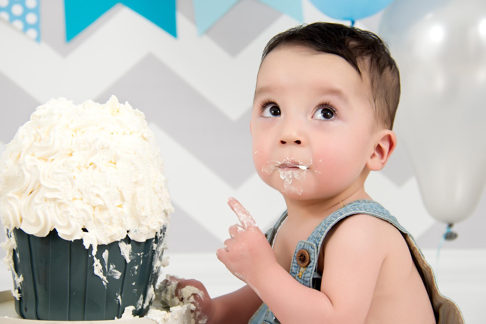 Smash Cake Sesión Fotos 1655