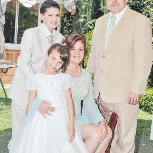 Una hermosa familia