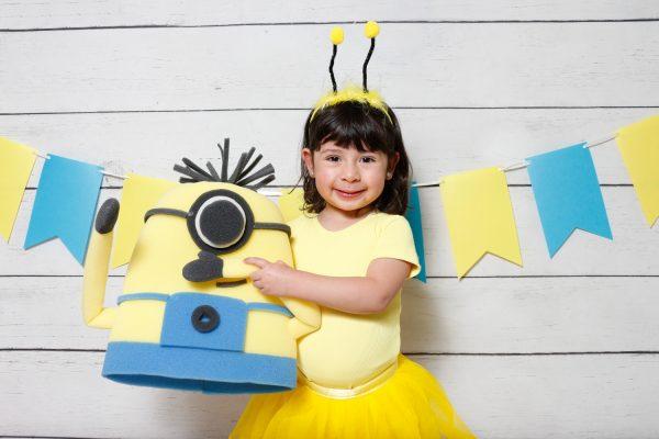 Fotocabina Infantil Minion 01