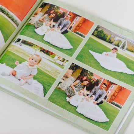 Calidad editorial 30x30 cms con 150 fotos