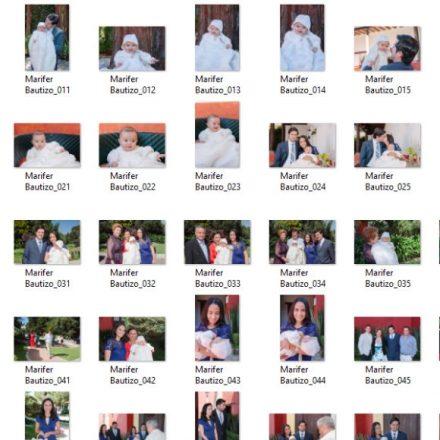 150 archivos editados - alta resolución