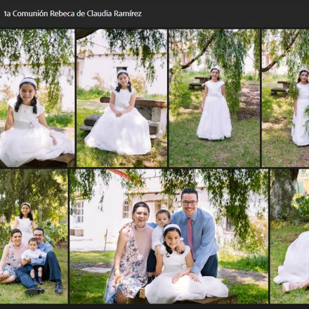 Galería en línea para selección de fotos