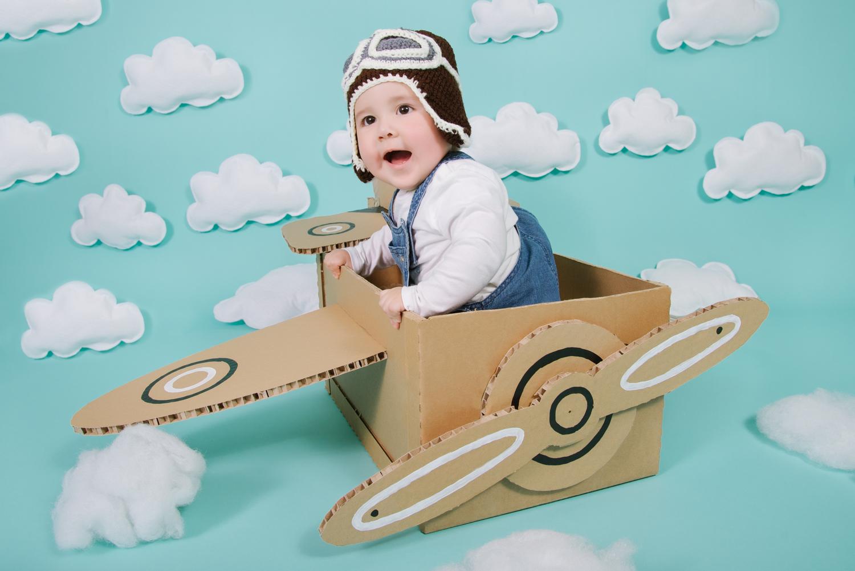 Infantil aviador Leo-