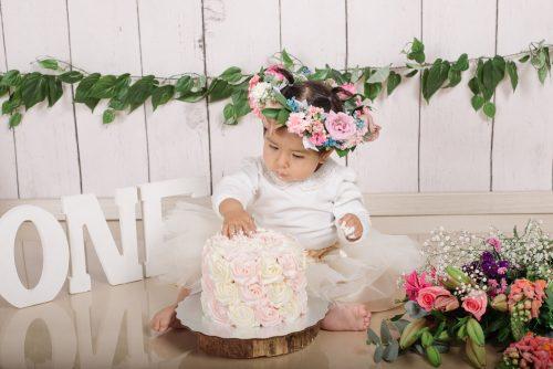 Isabel Smash Cake