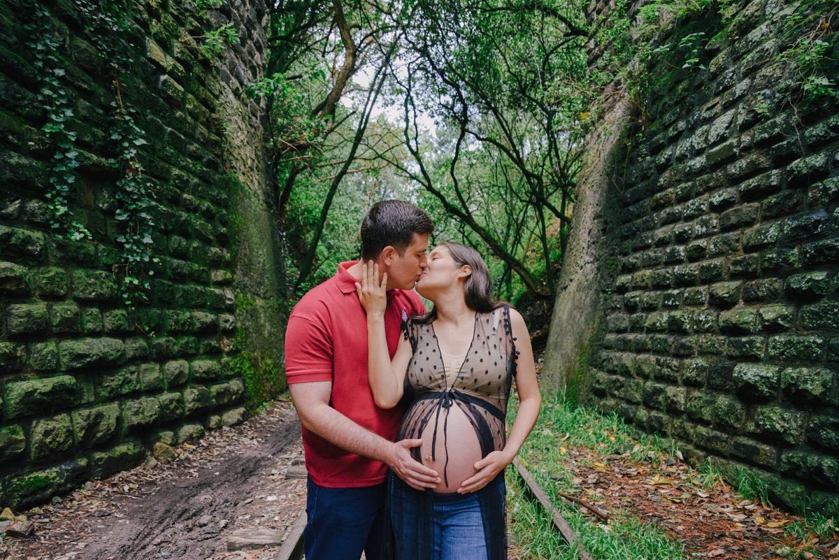 Maternidad con EVA